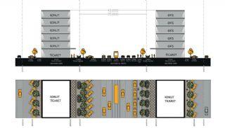 Gloednieuwe investeringsappartementen nabij tramlijn in Kepez Antalya, Vloer Plannen-14
