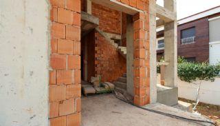 Ruim gloednieuw duplex huis met privézwembad in Antalya, Bouw Fotos-2