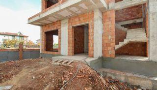 Rymligt helt nytt duplexhus med privat pool i Antalya, Byggbilder-3