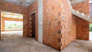Rymligt helt nytt duplexhus med privat pool i Antalya, Byggbilder-4