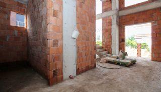 Ruim gloednieuw duplex huis met privézwembad in Antalya, Bouw Fotos-5