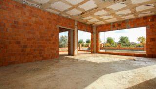 Rymligt helt nytt duplexhus med privat pool i Antalya, Byggbilder-6