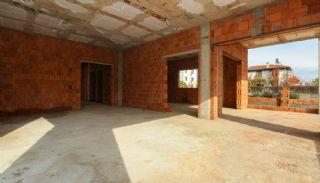Rymligt helt nytt duplexhus med privat pool i Antalya, Byggbilder-7