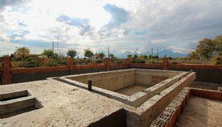 Ruim gloednieuw duplex huis met privézwembad in Antalya, Bouw Fotos-10
