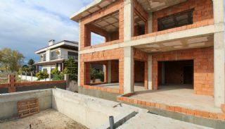 Rymligt helt nytt duplexhus med privat pool i Antalya, Byggbilder-11