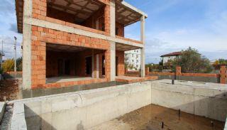 Ruim gloednieuw duplex huis met privézwembad in Antalya, Bouw Fotos-12