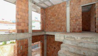 Rymligt helt nytt duplexhus med privat pool i Antalya, Byggbilder-14