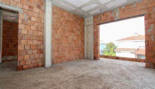 Rymligt helt nytt duplexhus med privat pool i Antalya, Byggbilder-16