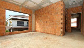 Rymligt helt nytt duplexhus med privat pool i Antalya, Byggbilder-19