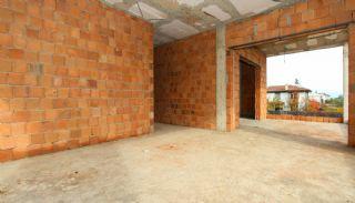 Rymligt helt nytt duplexhus med privat pool i Antalya, Byggbilder-20