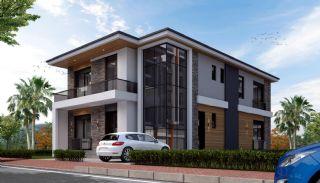 Rymligt helt nytt duplexhus med privat pool i Antalya, Antalya / Dosemealti