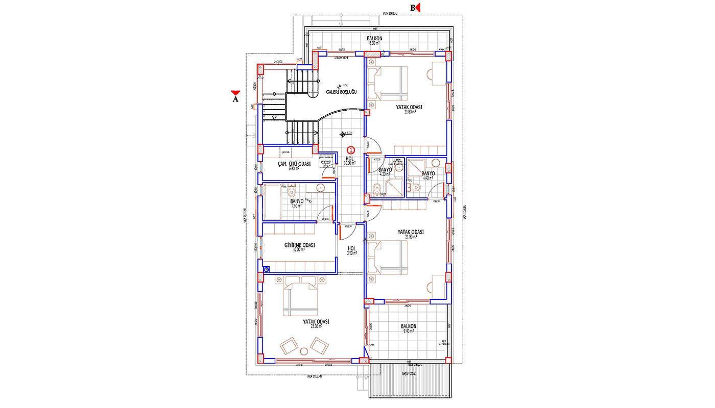 New House with Capacious Living Spaces in Döşemealtı