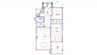 Rymligt helt nytt duplexhus med privat pool i Antalya, Planritningar-1