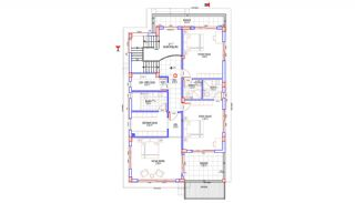 Rymligt helt nytt duplexhus med privat pool i Antalya, Planritningar-2