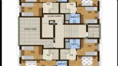 Konyaaltı Tower Apartmanı, Kat Planları-2