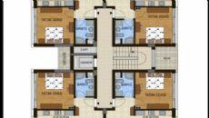 Konyaaltı Tower Apartmanı, Kat Planları-3