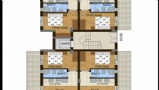 Konyaaltı Tower Apartmanı, Kat Planları-4