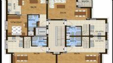 Konyaaltı Tower Apartmanı, Kat Planları-5