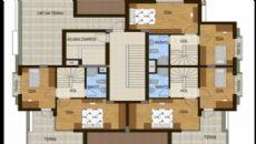 Konyaaltı Tower Apartmanı, Kat Planları-6