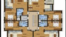 Konyaaltı Tower Apartmanı, Kat Planları-7