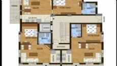 Konyaaltı Tower Apartmanı, Kat Planları-8