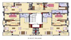 Villa Olivia, Kat Planları-4