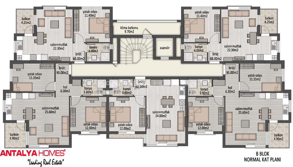 plan maison contemporaine prestige On plan de villa de luxe