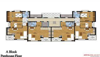 Апартаменты Грин Гарден, Планировка -3