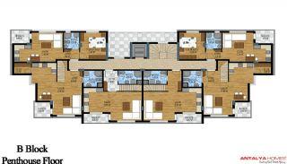 Апартаменты Грин Гарден, Планировка -6