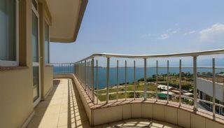 Lara'da Panoramik Deniz Manzaralı Satılık Daireler, İç Fotoğraflar-20