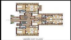 Hun Lägenheter, Planritningar-2