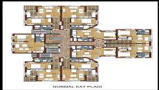 Hun Lägenheter, Planritningar-3