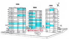 Duden Park Lägenheter, Planritningar-1