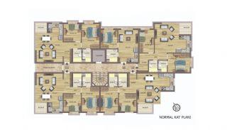 Hoogwaardig appartementen te koop in Konyaalti Antalya, Vloer Plannen-3