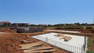 Villen mit privaten Pools inmitten der Natur in Antalya, Foto's Bau-3