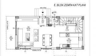 Döşemealtı'nda Doğa İçinde Özel Havuzlu Satılık Villalar, Kat Planları-10