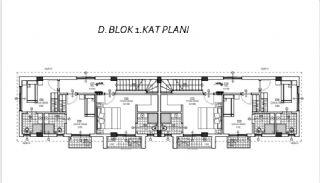 Döşemealtı'nda Doğa İçinde Özel Havuzlu Satılık Villalar, Kat Planları-5