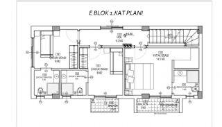 Döşemealtı'nda Doğa İçinde Özel Havuzlu Satılık Villalar, Kat Planları-8