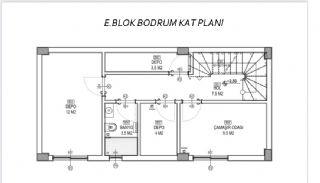 Döşemealtı'nda Doğa İçinde Özel Havuzlu Satılık Villalar, Kat Planları-9