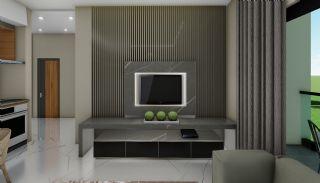 Lägenheter med havsutsikt till överkomliga priser i Alanya Mahmutlar, Interiör bilder-11