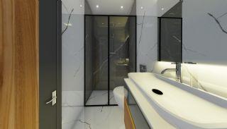 Lägenheter med havsutsikt till överkomliga priser i Alanya Mahmutlar, Interiör bilder-12