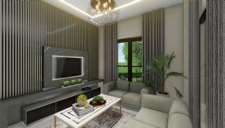 Lägenheter med havsutsikt till överkomliga priser i Alanya Mahmutlar, Interiör bilder-14
