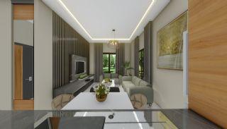 Lägenheter med havsutsikt till överkomliga priser i Alanya Mahmutlar, Interiör bilder-18