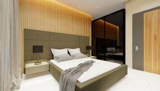 Lägenheter med havsutsikt till överkomliga priser i Alanya Mahmutlar, Interiör bilder-3