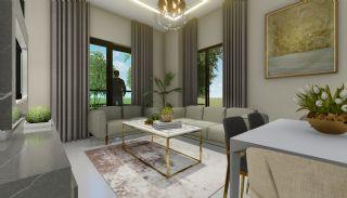Lägenheter med havsutsikt till överkomliga priser i Alanya Mahmutlar, Interiör bilder-7