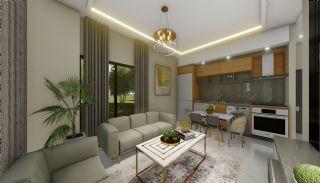 Lägenheter med havsutsikt till överkomliga priser i Alanya Mahmutlar, Interiör bilder-8
