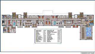 Lägenheter med havsutsikt till överkomliga priser i Alanya Mahmutlar, Planritningar-1