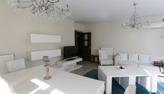Furnished Apartment for Sale with Sea View in Lara Antalya, Interior Photos-1