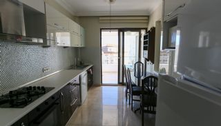 Furnished Apartment for Sale with Sea View in Lara Antalya, Interior Photos-7