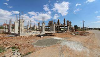 Роскошные 2-Этажные Виллы с Личным Бассейном в Анталии, Дёшемеалты, Фотографии строительства-1